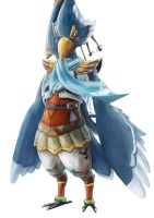 Breath of the Wild - Revali The Rito Champion by Advent-Hawk