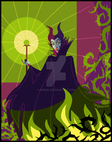 Maleficent- Once Upon A Dream by Cor104