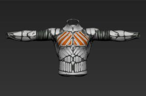 textured armor by evilkoolade