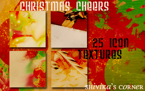 Christmas Cheer Icon Textures by spiritcoda