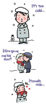 His Scarf TTTE-human by semihiro51