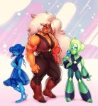 Lapis Jasper  Peridot by CamiFortuna
