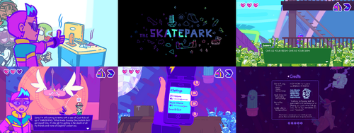 Cool Kid Cody: Totally Unreal Screens 3 by GreenMangos