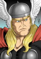 Thor Classic Bust by Ronniesolano