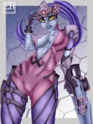 Overwatch Widowmaker fan art 1