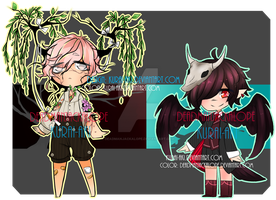 Nature collab adopts (MOVED details in desc) by DeadmanJackalope