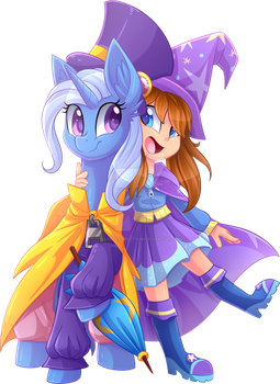 A Hat In Time And Trixie [C] by Scarlet-Spectrum