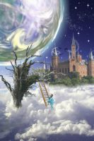 Stairway of dreams by ShimmyShake0