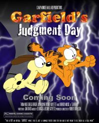 Garfield's Judgment Day-Movie Poster Spoof by FluidGirl82
