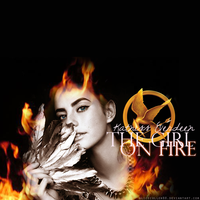 Katniss: the girl on fire by AliceCullen88
