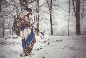 Our Land/ Connor Kenway cosplay by Blink005