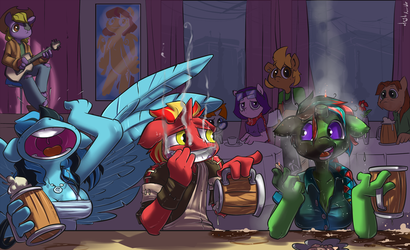 Commission - My Bad by atryl