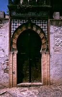 Portal in Granada - Spain by Woscha