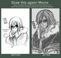 meme: Before After by akamenashi