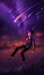 Cavetown - Meteor Shower (SPEEDPAINT) by ghostchiryou