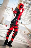 Lady Deadpool by fabiohazard
