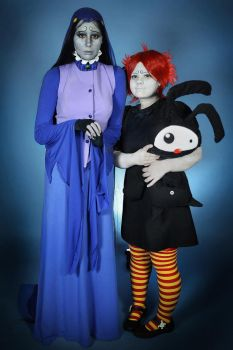 Ruby and Misery cosplay by The-Irstress