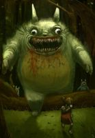 The Real Totoro by Trudsss