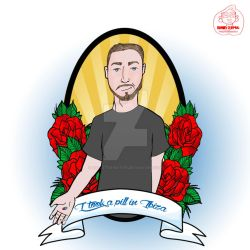 Mike Posner Pin Up by my-little-native