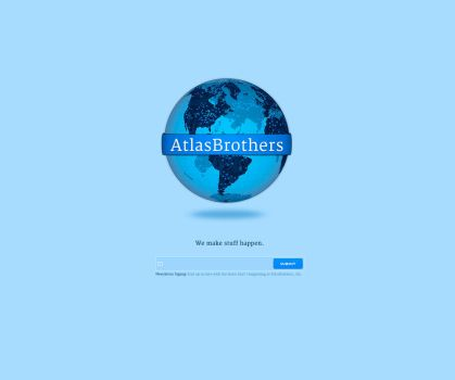 Atlas Brothers Teaser Site by rodlalama