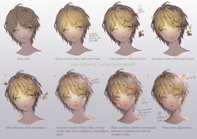 Hair Coloring tutorial by EndlessRz
