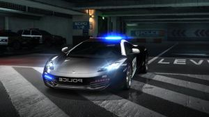 mclearn MP4-12C police. NFS by DazKrieger