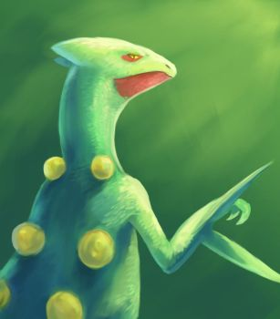 Sceptile by R8A-creations