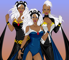 The Triple Goddess II by MoonStar757