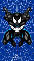 Spider-Man symbiote style by MommyLexis