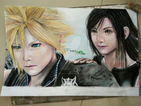 FINAL FANTASY VII ADVENT CHILDREN  by YukiFantasy