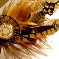 Clockhands Tribal Headdress by SteamSociety