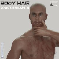 G8M/M8 Body hair, by Farconville by FantasiesRealmMarket