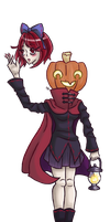 Touhou Halloween Part 1 by TeacupDream