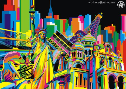Mix City by weercolor