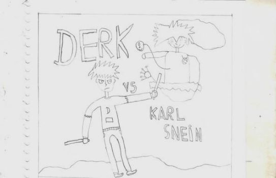 Derk revo comic Derk vs Karl Snein by JuanAnd17