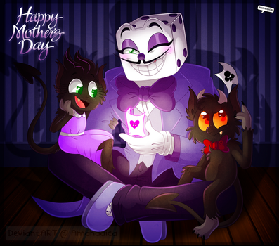 CH - Special Mother's Day - King Dice and Kiddos by Amanddica