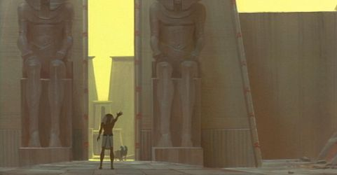 Prince of Egypt Scene by NathanFowkesArt