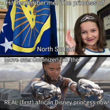 Move over Princess Of North Sudan by Romanoslittlelover1
