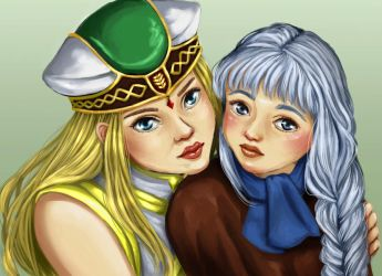Draw This Again - Valkyrie Profile by Refielle