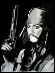 Captain Jack Sparrow. by OurLady-OfSorrows
