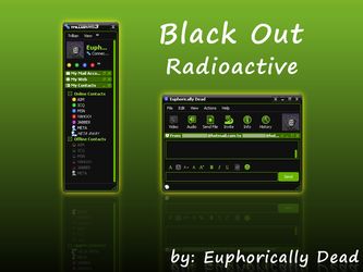 Black Out: Radioactive by euphoricallydead