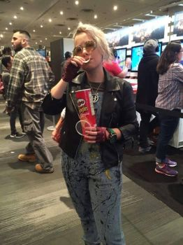 THE BEST Holtzmann cosplay EVER! WITH PRINGLES!!! by ShizNat4EVER