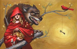 Red Riding Hood by AlanaMcCarthyArt