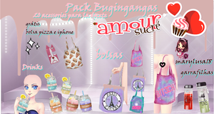 Pack Bugingangas Amordce by Marylusa18