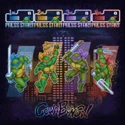 Ninja Teen Turtle Mutants by likelikes