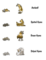 Squiby - RL Hyenas by cheetahtrout