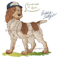 spn dogs: Bobby by Aibyou
