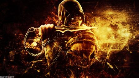 Mortal Kombat X Scorpion Wallpaper By DanteArtWallpapers On DeviantArt