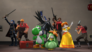 [SFM] Player's Lineup by ZeFrenchM