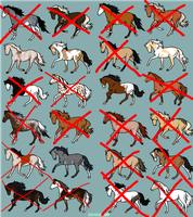 24 Horse Adoptables [OPEN] by soul-nox